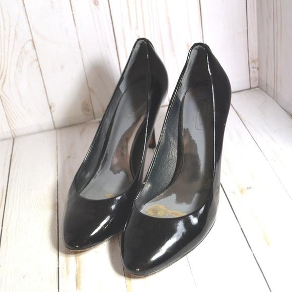 fed15528745 Coach Nala Patent Leather heels. M 5b07b01d84b5ce20a3fd7dd3